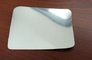 Siser Metallic silver iron on dry erase label