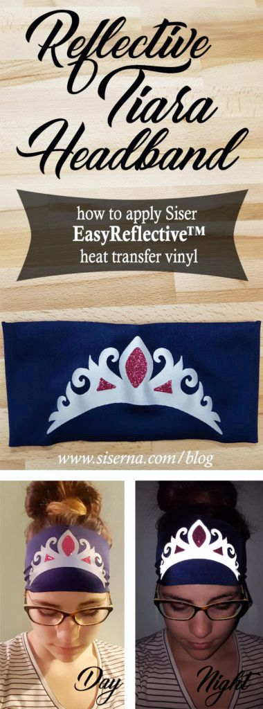 Calling all work out queens! EasyReflective heat transfer vinyl keeps you safe and your work out lit! Learn how to make a reflective stretch headband in today's post.