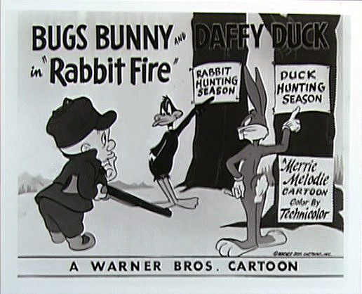 "Looney Tunes ""Rabbit Fire"" episode"