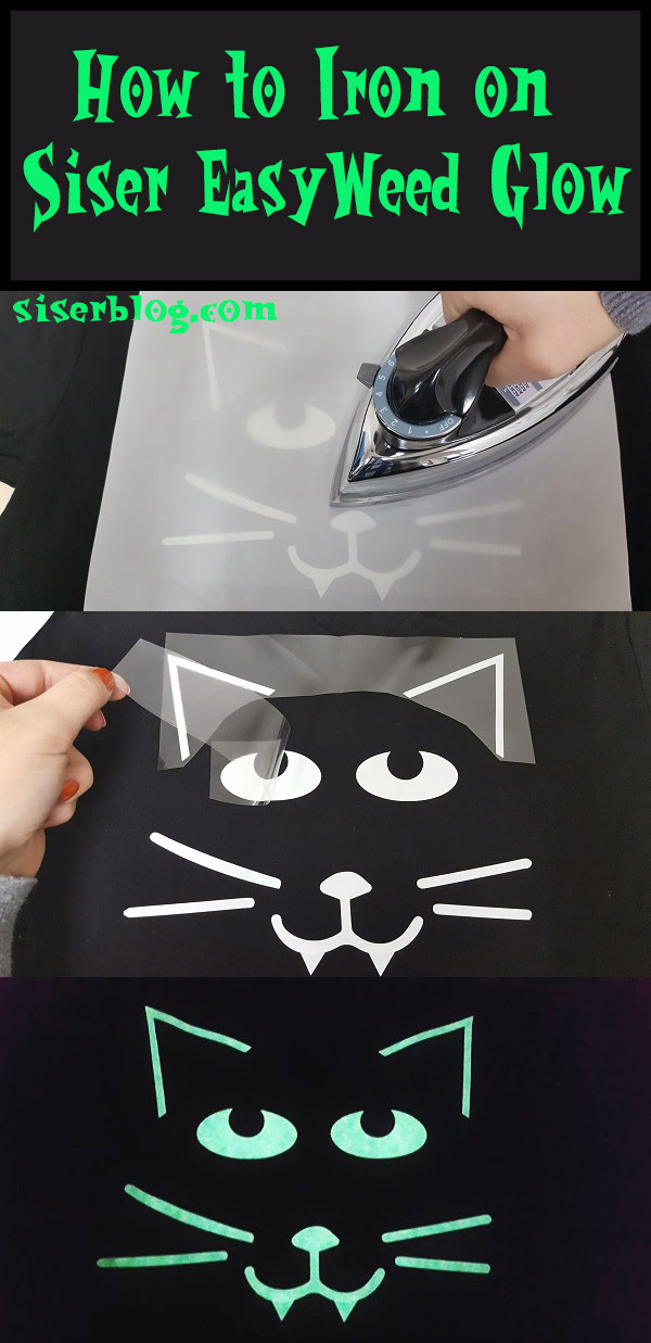 Create glowing, custom designs with EasyWeed™ Glow and a home iron! It's so simple and perfect for Halloween. Check out our black cat project with the free cut file to create your own!