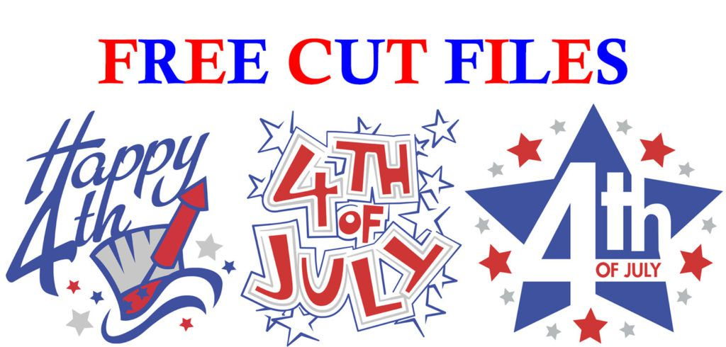 free fourth of July cut files for independence day from Great Dane Graphics