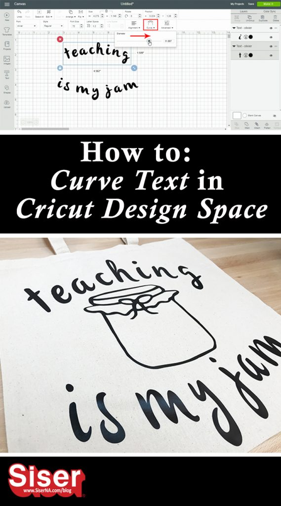 Curving text in Cricut Design Space just got easier! Learn how the Curve tool works in this tutorial and discover how it can simplify your design process!