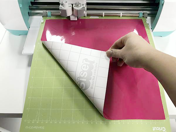How to cut EasyPSV by Siser with the Cricut Explore Air