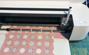 cutting and drawing on fabric with the new Cricut Maker