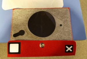 Decorating a felt tablet cover with Siser HTV