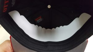 59307b728cc Remove the cardboard liner from the snapback hat Adjust the sweatband on ...