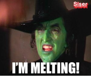 I'm Melting Wizard of Oz meme