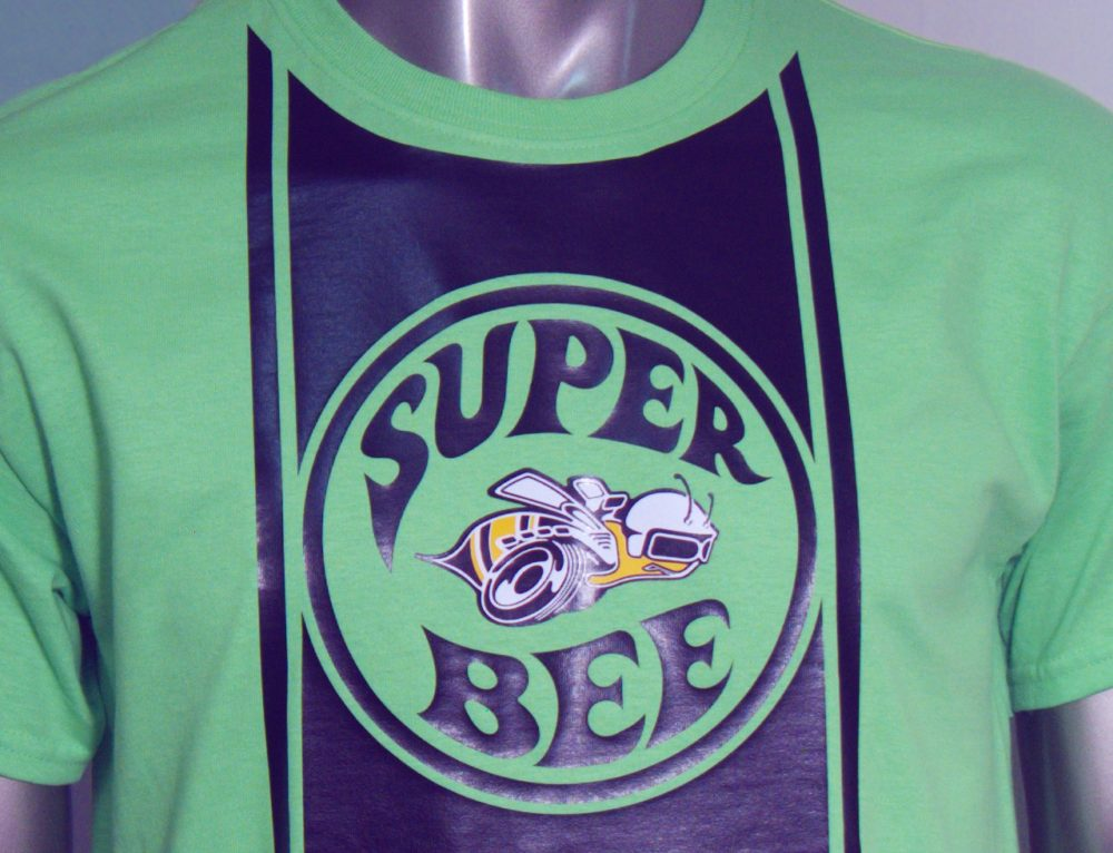 Throwback Thursday # 6 EasyWeed Dodge Super Bee Logo