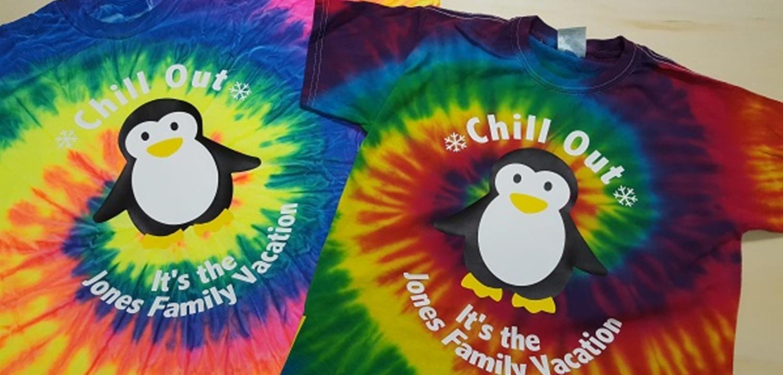 family vacation penguin shirts