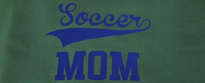 Soccer Mom blanket using Siser StripFlock