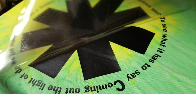 DIY Band T-shirt using Siser heat transfer vinyl