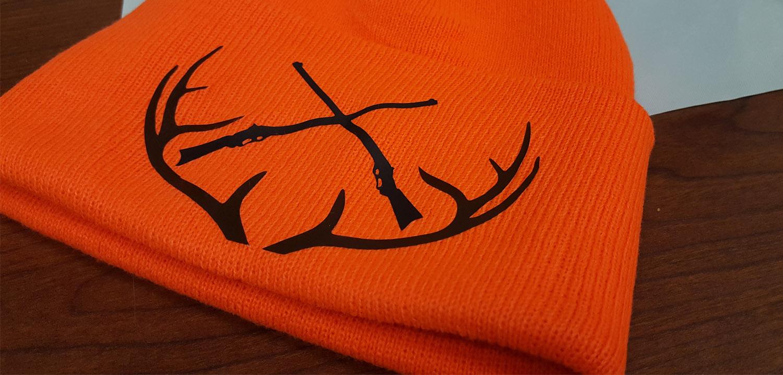 8d80668e658 Diy Blaze Orange Deer Hunting Hat Siser North America