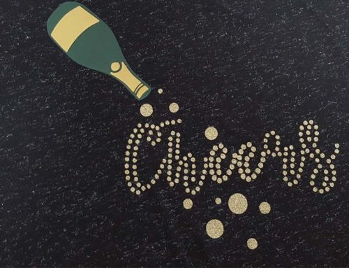 Cheers To A Sparkly New Year: DIY Glitter Rhinestones