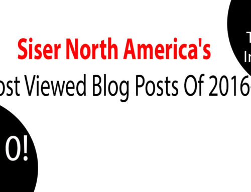 The Top 10 Posts From The Siser Blog In 2016