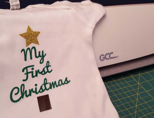 My First GCC iCraft Project – DIY Iron On Onesie