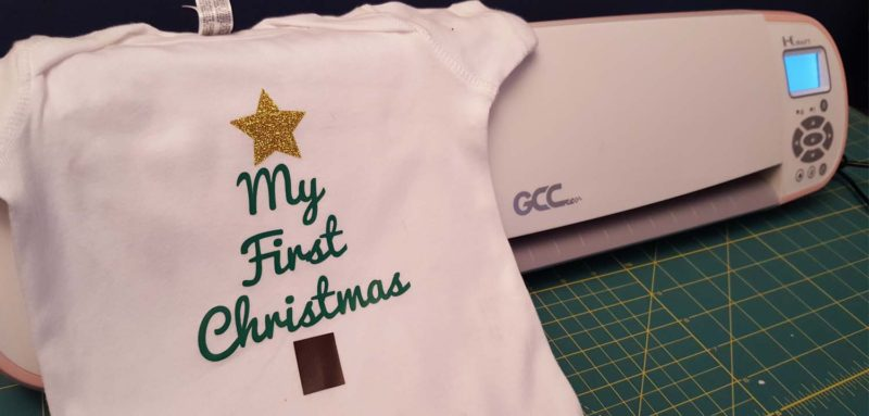 How to decorate a onesie with the GCC iCraft