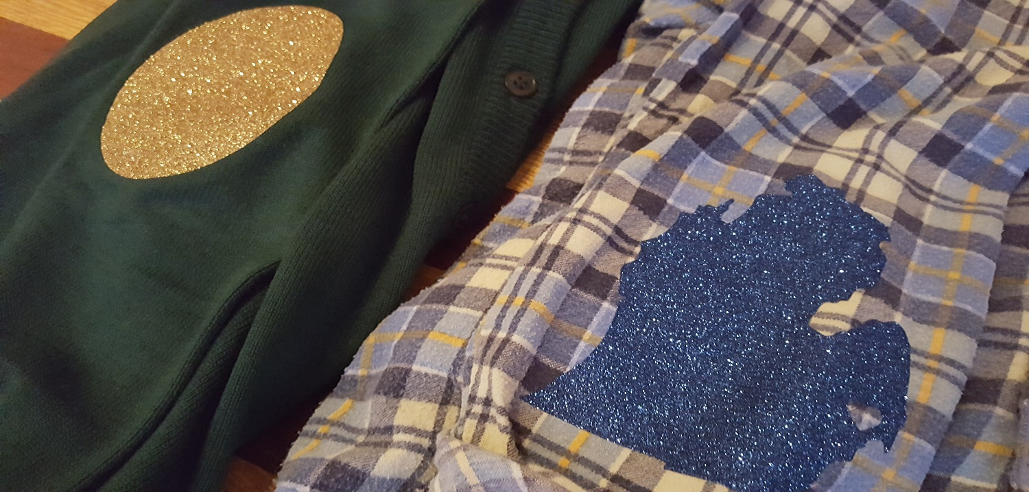 Diy Elbow Patches With Glitter Htv Siser North America