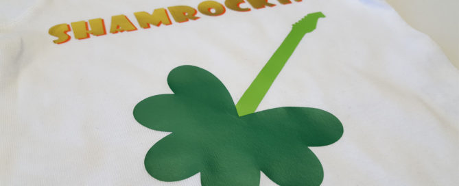 how to make a shamrock in Cricut Design Space