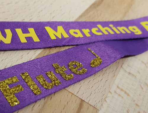 DIY Marching Band Lanyard With A Flat Iron