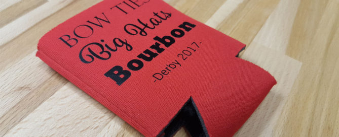 DIY Kentucky Derby can koozie