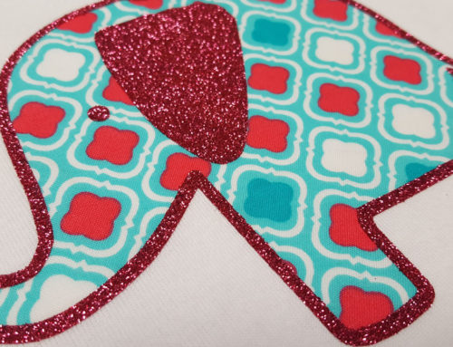 DIY Fabric Applique with EasyWeed™ Adhesive