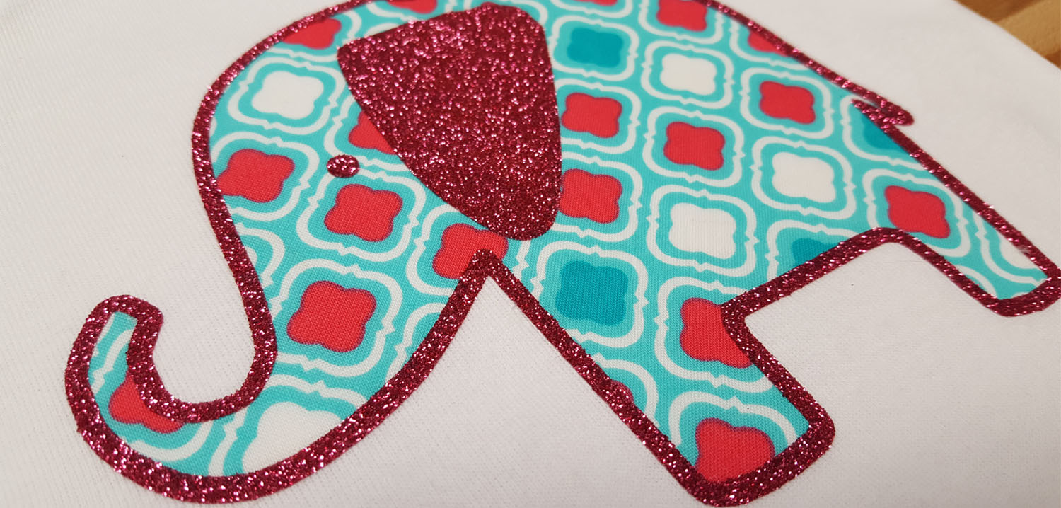 DIY fabric applique with EasyWeed Adhesive