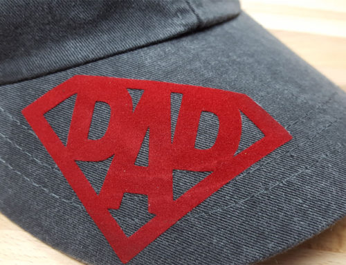 DIY Father's Day Baseball Hat (Free Cut File)
