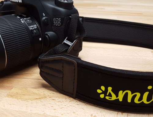 DIY Neoprene Camera Strap