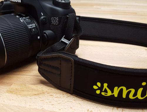 DIY Neoprene Camera Strap