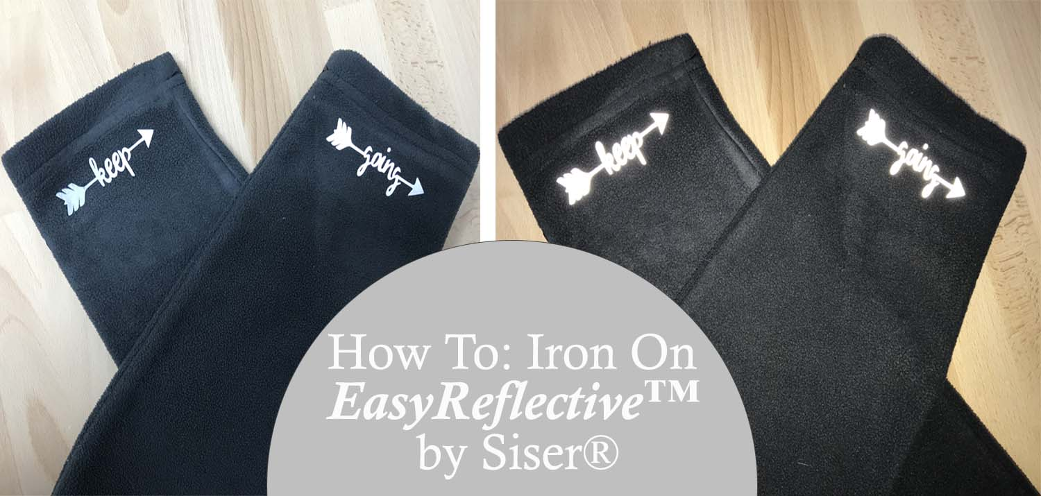 how to iron on easyreflective htv