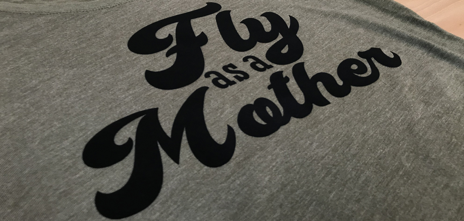 DIY Mother's Day T-shirt with StripFlock