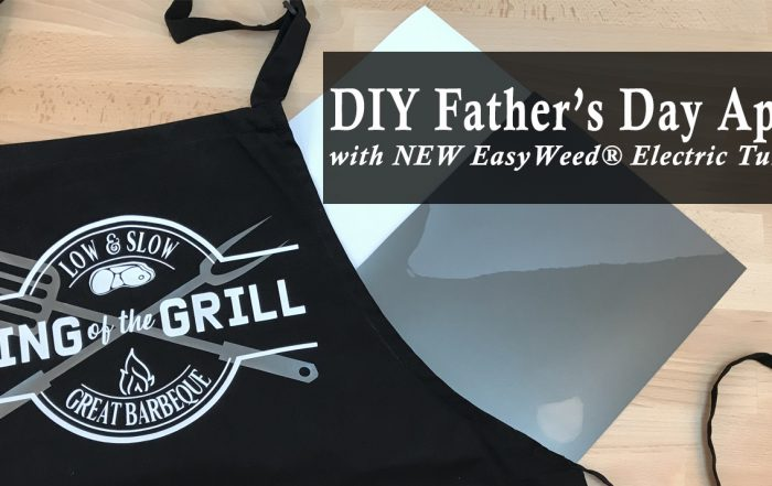 DIY Barbecue Apron for Father's Day gift