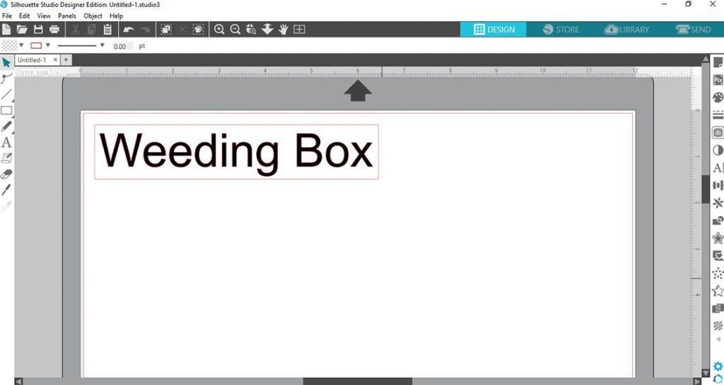 Tip #1: Use weeding box cut lines in Silhouette Studio