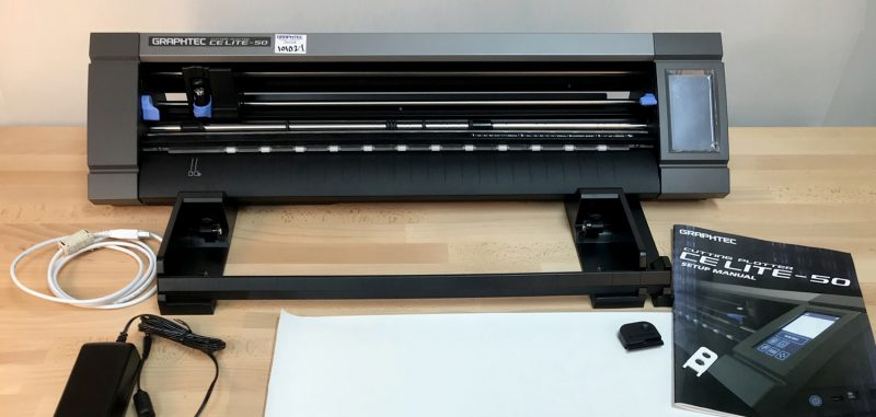 Graphtec CE Lite-50 twenty inch cutter, plotter
