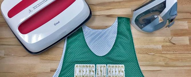 DIY St. Patrick's Day mesh polyester jersey