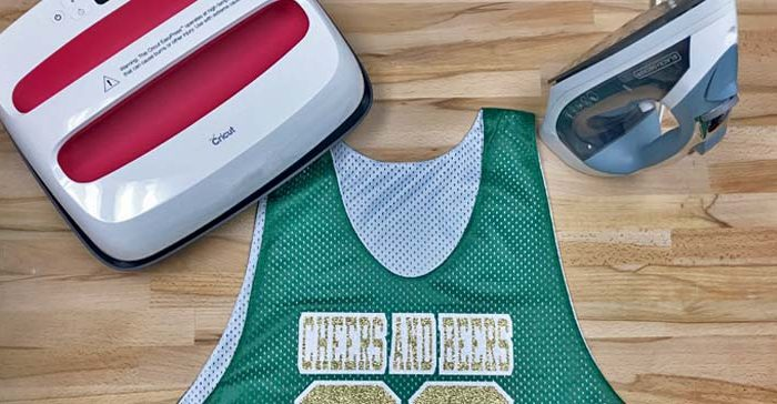 DIY St. Patrick's Day mesh polyester jersey