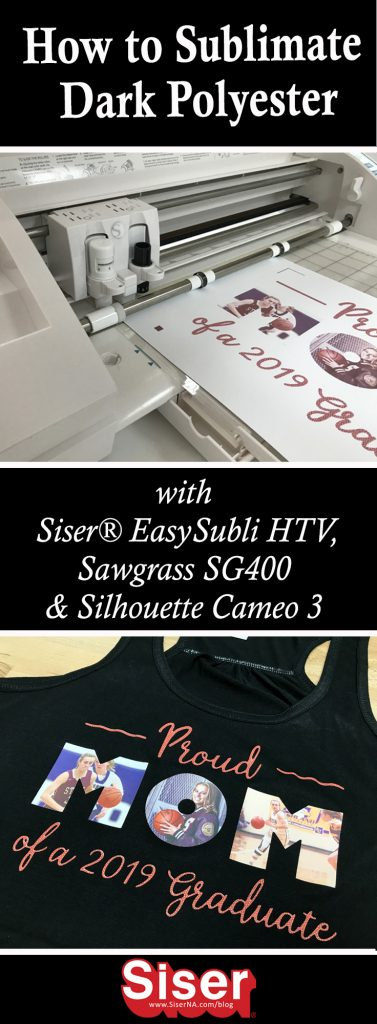 Limiting sublimation to light polyester is a thing of the past! NEW Siser EasySubli HTV and Siser EasySubli Inks by Sawgrass make decorating colored polyester and cotton blends a possibility!