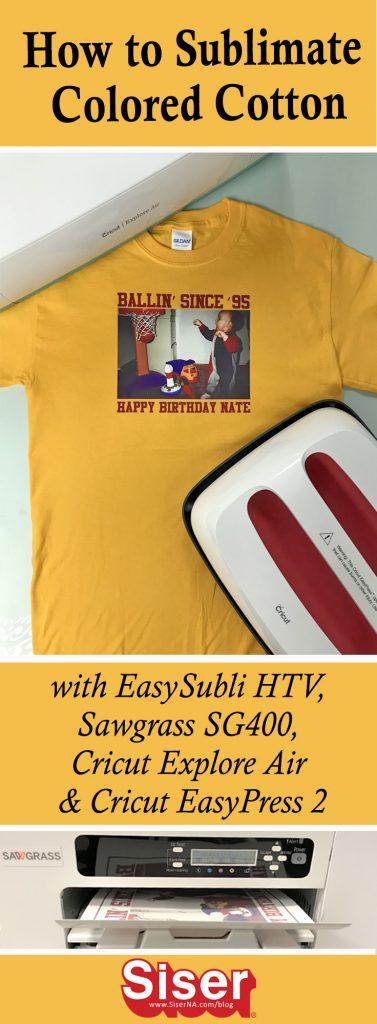 How To Use EasySubli® HTV with the Cricut Explore Air